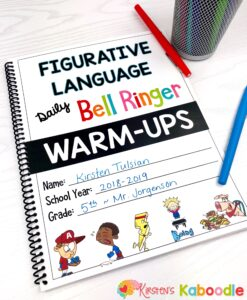 Figurative Language Bell Ringers