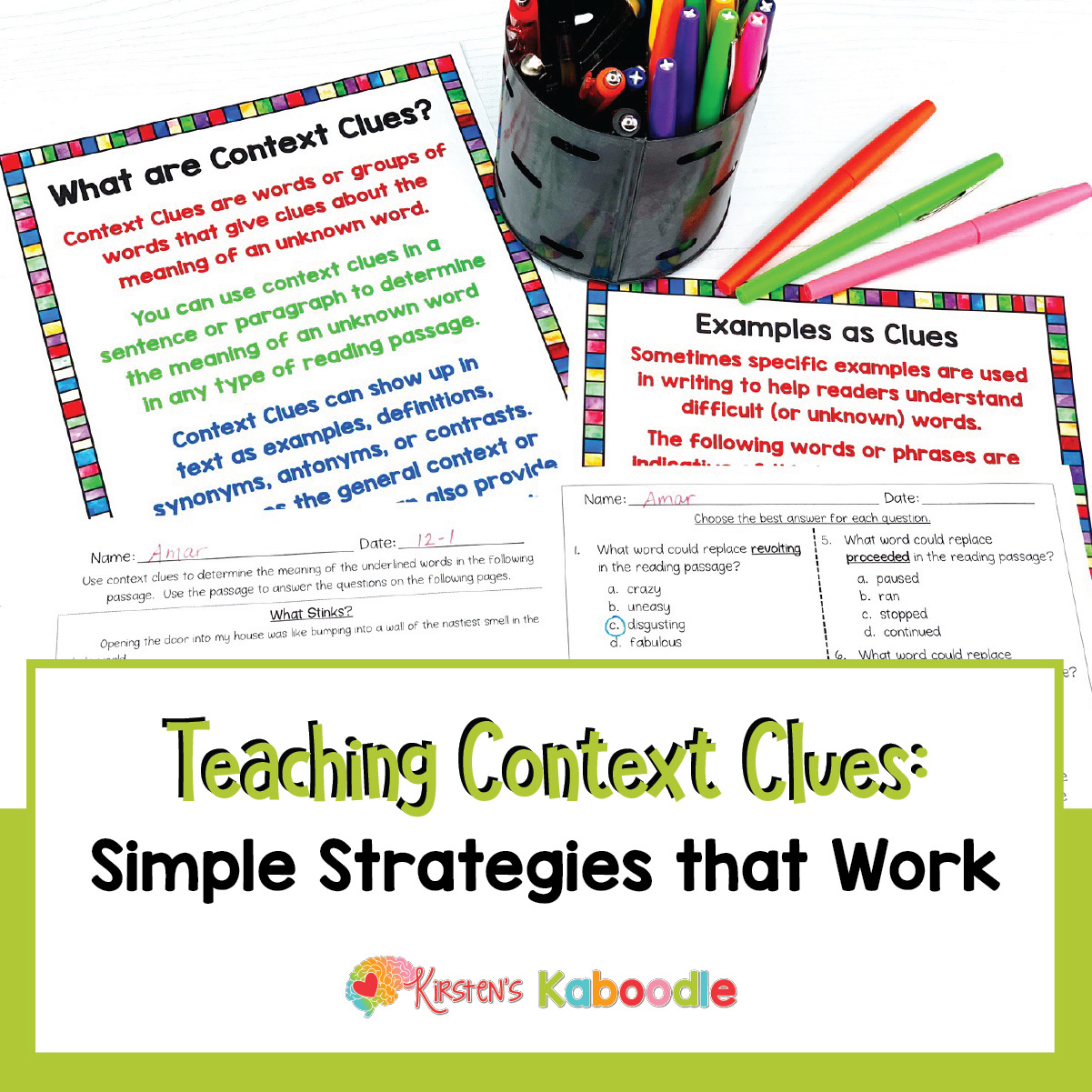 - Teaching Context Clues Simple Strategies That Work