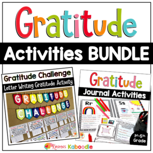 Gratitude Activities Bundle