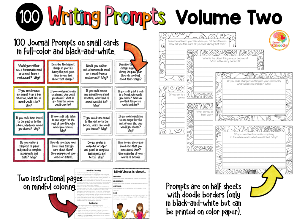 Writing Prompts Quick Writes