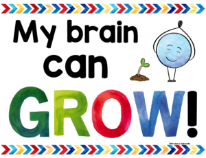 Growth Mindset Affirmation Poster